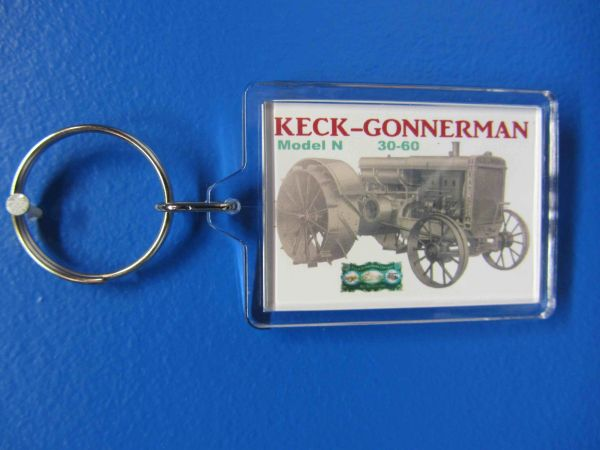KECK GONNERMAN MODEL N KEYCHAIN