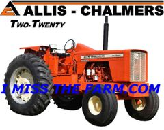 ALLIS CHALMERS 220 (image #2) COFFEE MUG