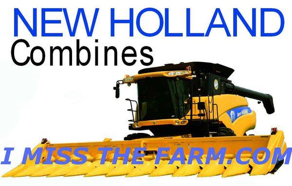 NEW HOLLAND COMBINES COFFEE MUG