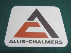 ALLIS CHALMERS TRIANGLE LOGO MOUSEPAD