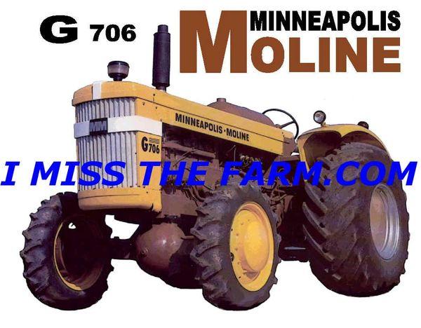 MINNEAPOLIS MOLINE G-706 HOODED SWEATSHIRT