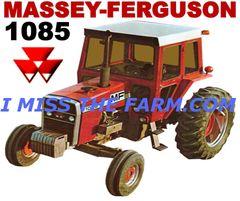 MASSEY FERGUSON 1085 HOODED SWEATSHIRT