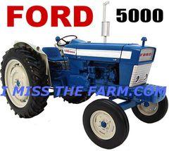 FORD 5000 HOODED SWEATSHIRT