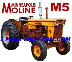 MINNEAPOLIS MOLINE M5 COFFEE MUG