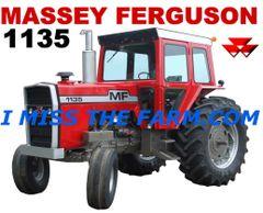 MASSEY FERGUSON 1135 KEYCHAIN