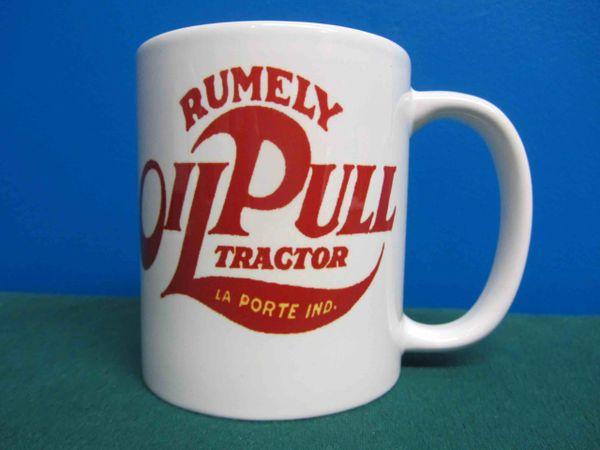 RUMELY OIL PULL LOGO COFFEE MUG