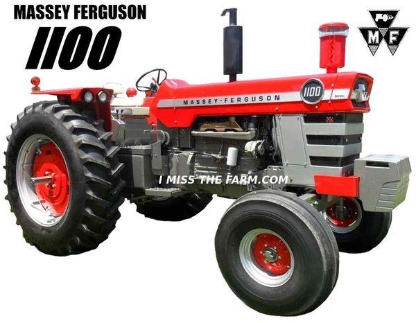 MASSEY FERGUSON 1100 SWEATSHIRT