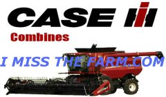 CASE IH COMBINES HOODED SWEATSHIRT
