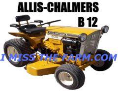 ALLIS CHALMERS B12 SWEATSHIRT