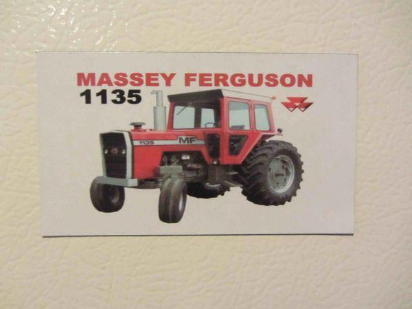 MASSEY FERGUSON 1135 Fridge/toolbox magnet