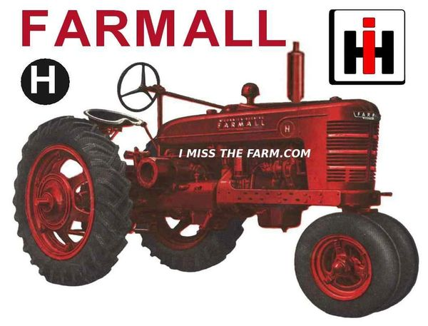 FARMALL H SWEATSHIRT