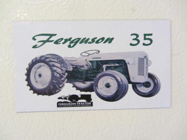FERGUSON T0-35 (GREEN) Fridge/toolbox magnet
