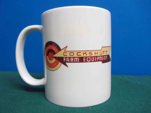 COCKSHUTT FARM EQUIPMENT LOGO COFFEE MUG