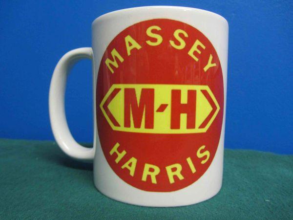 MASSEY HARRIS LOGO COFFEE MUG