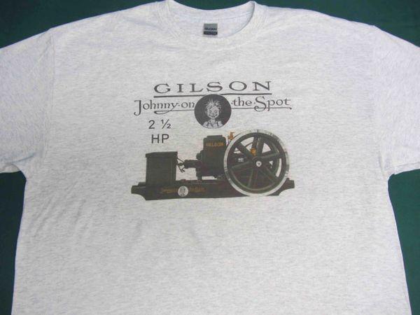 GILSON 2 1/2 HP ENGINE TEE SHIRT
