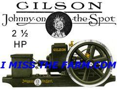 GILSON 2 1/2 HP ENGINE COFFEE MUG