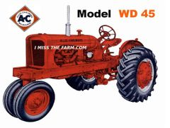 ALLIS CHALMERS WD45 NF MOUSEPAD