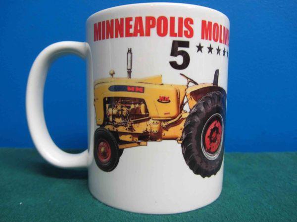 MINNEAPOLIS MOLINE 5 STAR COFFEE MUG