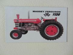MASSEY FERGUSON 1130 Fridge/toolbox magnet