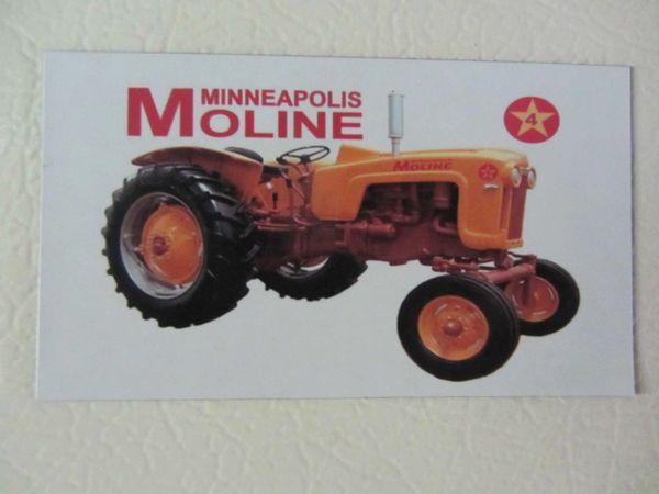 MINNEAPOLIS MOLINE 4 STAR Fridge/toolbox magnet