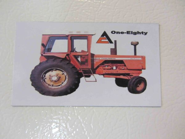 ALLIS CHALMERS 180 Fridge/toolbox magnet