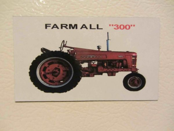 FARMALL 300 NF Fridge/toolbox magnet