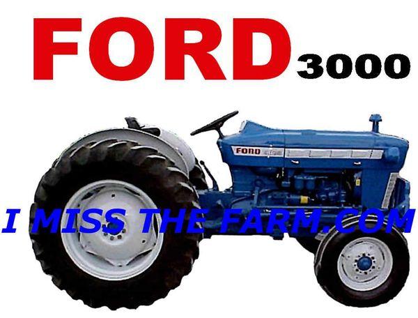 FORD 3000 HOODED SWEATSHIRT
