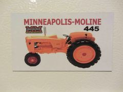 MINNEAPOLIS MOLINE 445 Fridge/toolbox magnet