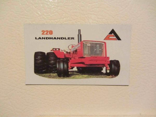 ALLIS CHALMERS 220 Fridge/toolbox magnet