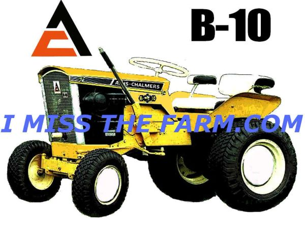 ALLIS CHALMERS B10 (image #10) HOODED SWEATSHIRT