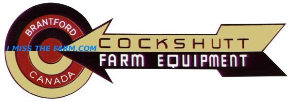 COCKSHUTT FARM EQUIPMENT LOGO TRAVEL MUG
