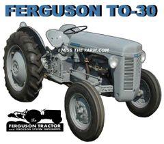 FERGUSON TO-30 SWEATSHIRT