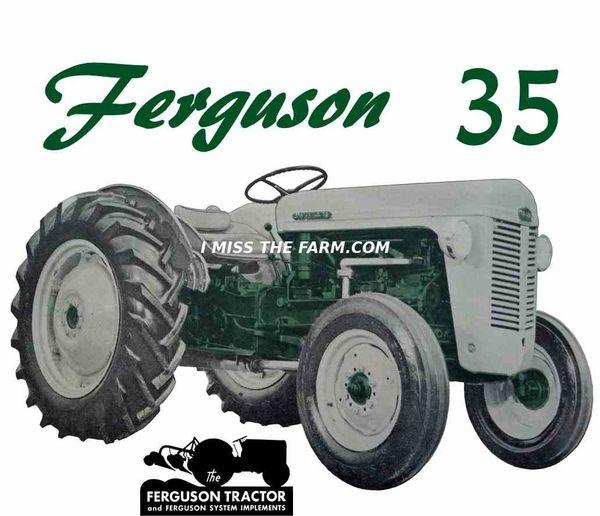 FERGUSON TO-35 (green) HOODED SWEATSHIRT