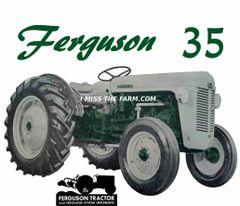 FERGUSON TO-35 (green) SWEATSHIRT