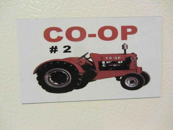 CO-OP #2 Fridge/toolbox magnet