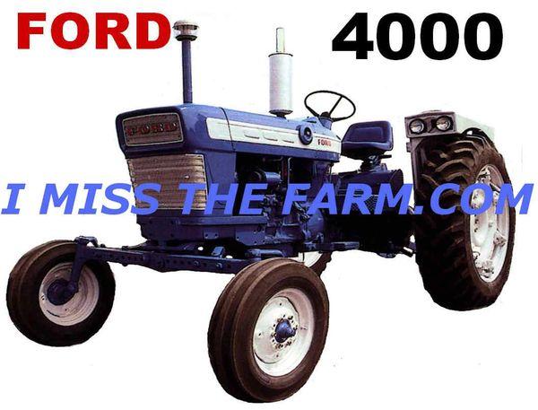 FORD 4000 (image #2) COFFEE MUG