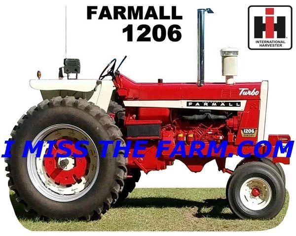 FARMALL 1206 (image #4) TEE SHIRT