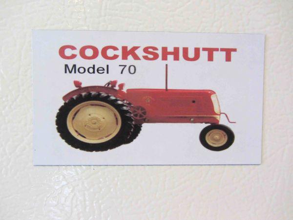 COCKSHUTT 70 Fridge/toolbox magnet