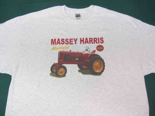 MASSEY HARRIS MUSTANG TEE SHIRT