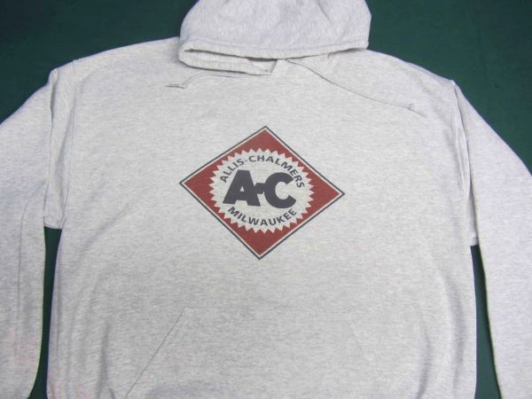 ALLIS CHALMERS DIAMOND LOGO HOODED SWEATSHIRT