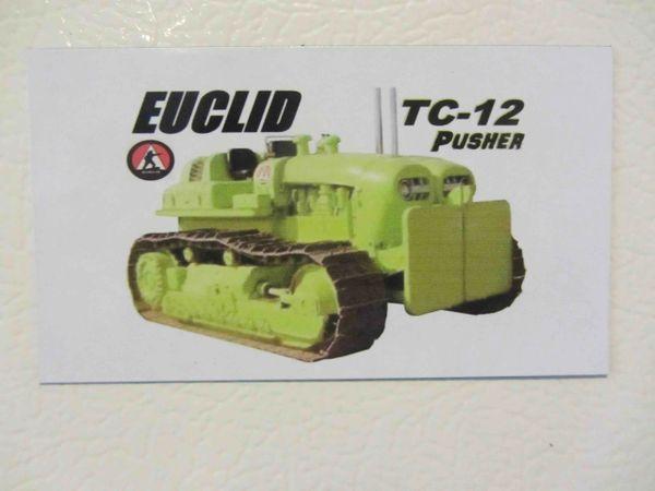 EUCLID TC-12 PUSHER Fridge/toolbox magnet