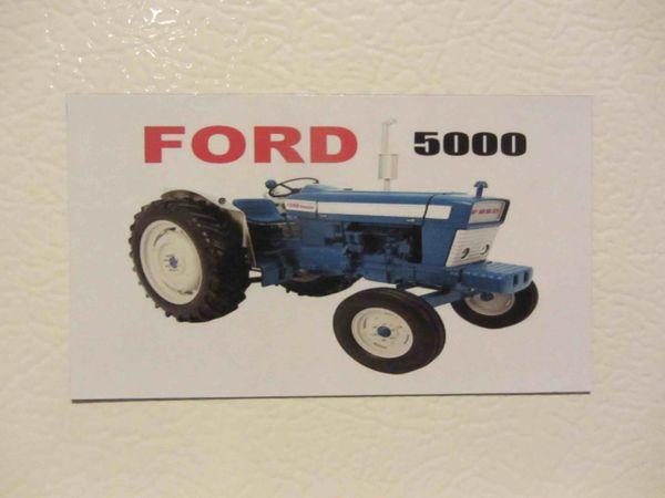 FORD 5000 Fridge/toolbox magnet