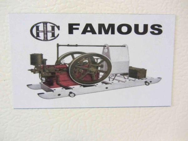 IHC FAMOUS Fridge/toolbox magnet