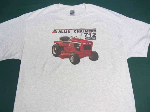 ALLIS CHALMERS 712 SHUTTLE TEE SHIRT