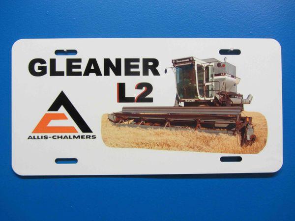 GLEANER L2 LICENSE PLATE