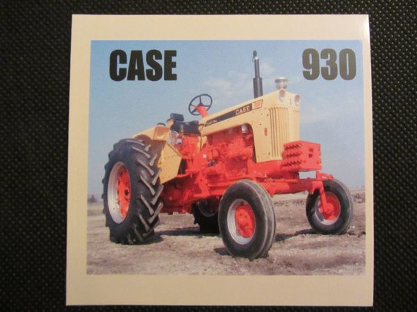 CASE 930 CK Bumper sticker