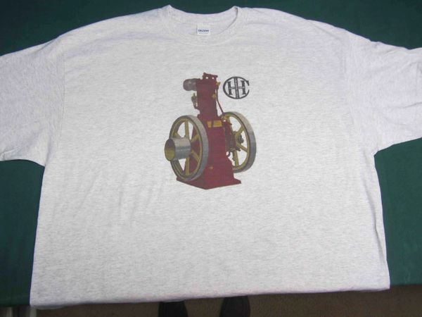 IHC VERTICAL ENGINE TEE SHIRT