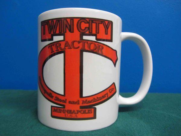 TWIN CITY TRACTOR LOGO COFFEE MUG