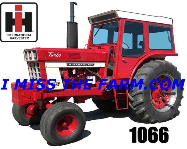 IH 1066 (DELUXE CAB) TRAVEL MUG