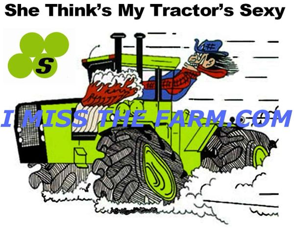 "STEIGER ""SHE THINKS MY TRACTOR'S SEXY"" COFFEE MUG"